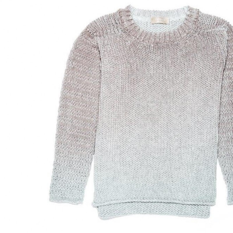 Sweater in wool, realized by Cividini