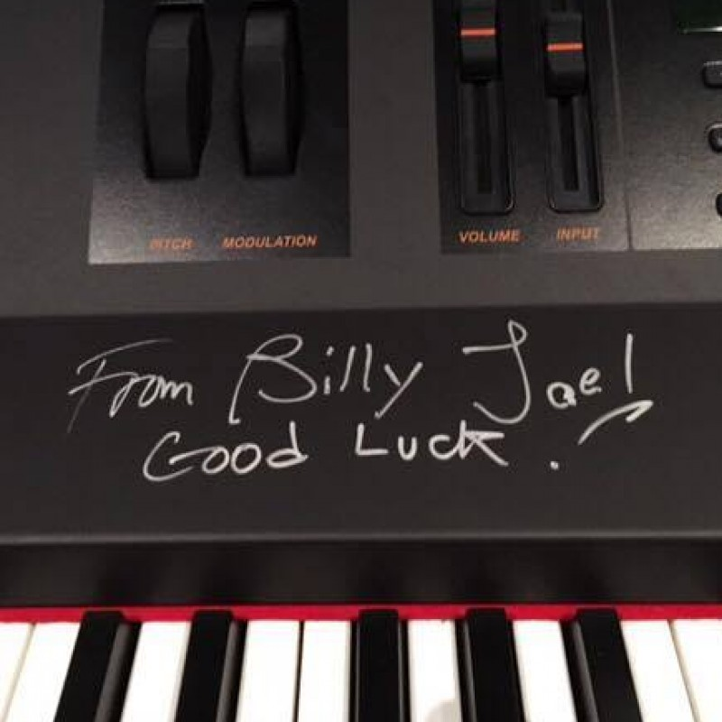 Billy Joel's Keyboard from Madison Square Garden