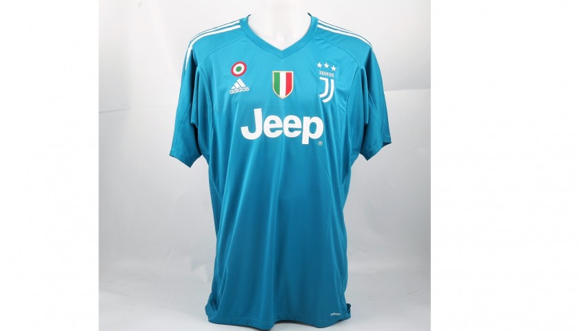 purchase cheap 263f6 74de8 Signed Official Buffon Juventus Shirt, 2017/18 - CharityStars
