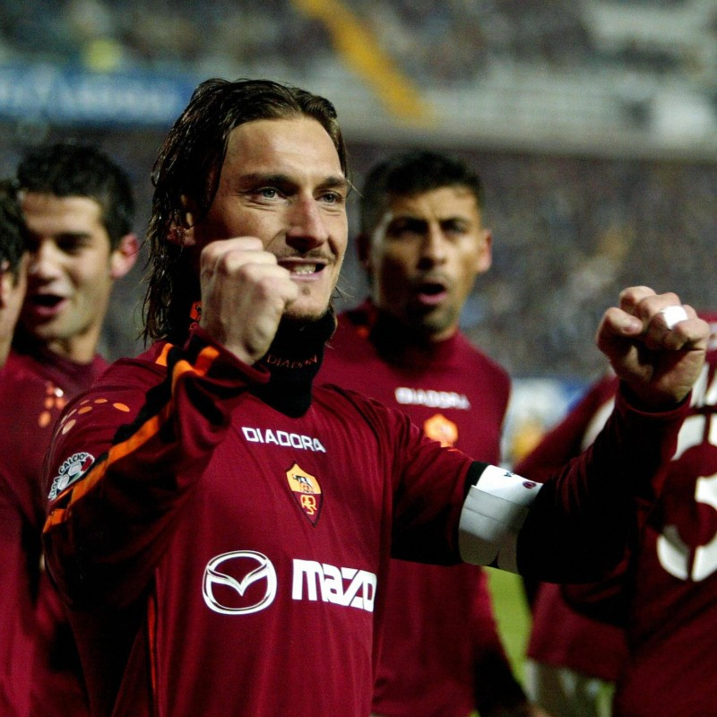 Totti's Roma Match Shirt, 2003/04