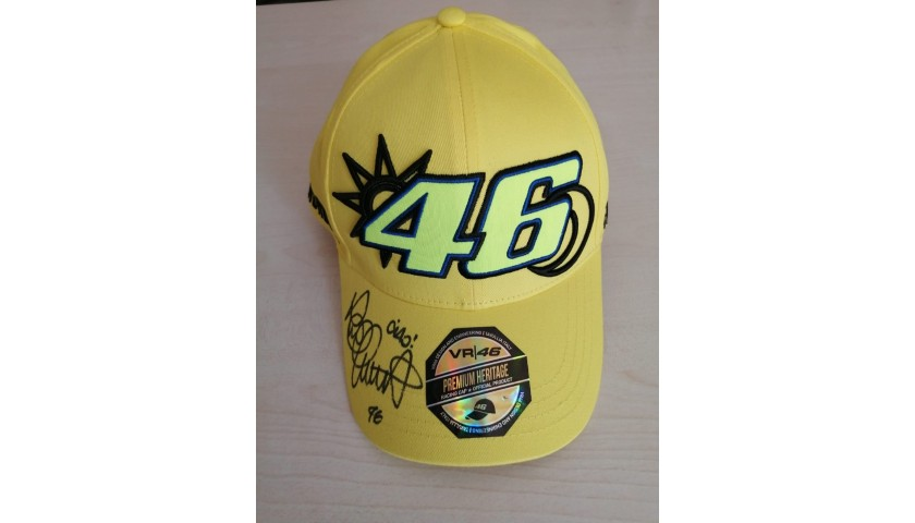 Cap Signed by Valentino Rossi