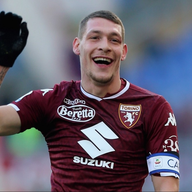Belotti's Torino Signed Match Shirt, 2018/19