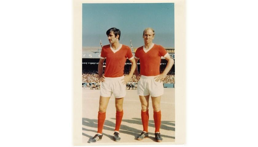 Charlton's Manchester United Match Shirt, 1960s
