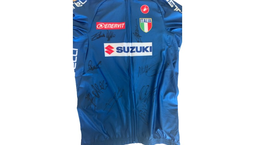 Italy Cycling Team Jersey - Signed by the European Championship Competitors