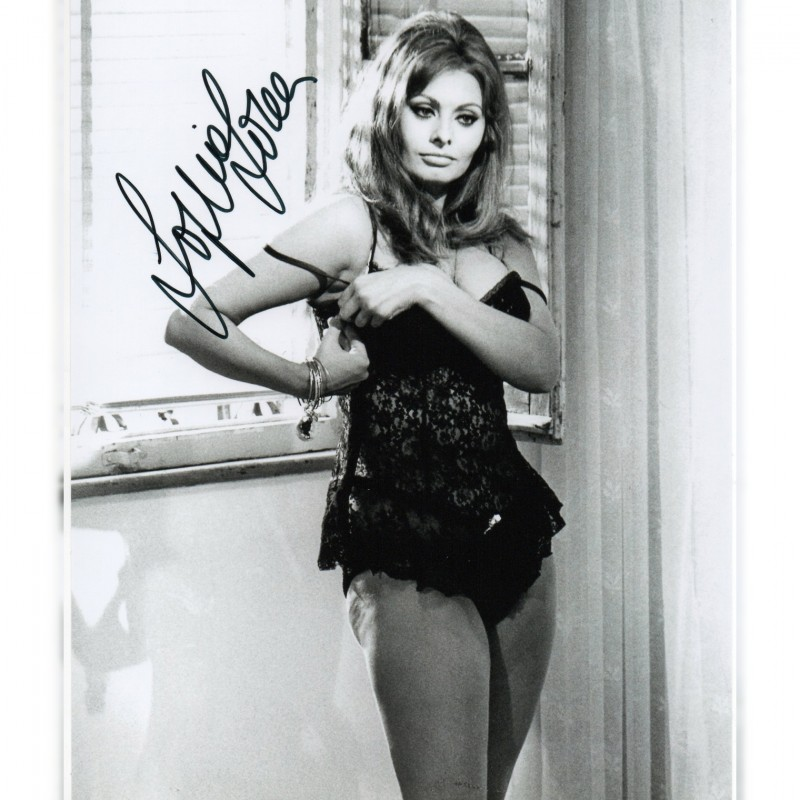 """Yesterday, Today and Tomorrow"" Photograph Signed by Sophia Loren"