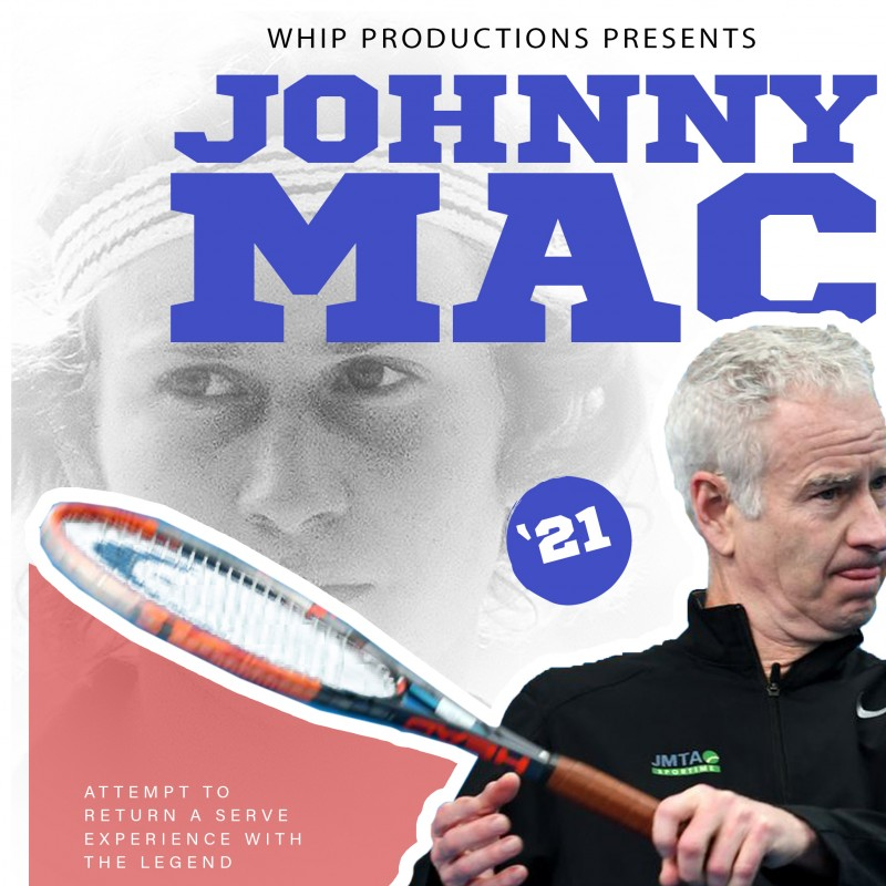 Return a Serve From Tennis-Legend John McEnroe in Randalls Island, NY
