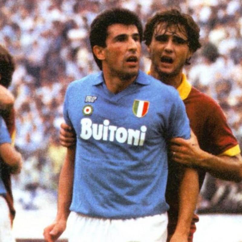 Napoli Shirt Season 1987/88 - Worn by Bagni