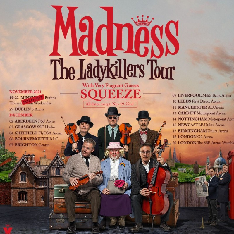 Madness: LadyKillers Tour Extravaganza