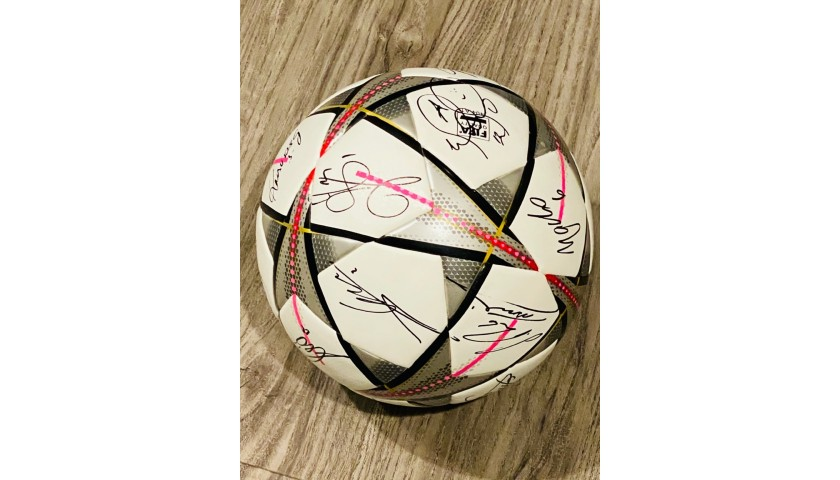 Official UCL Ball Signed by the Real Madrid 2016 Champions Team