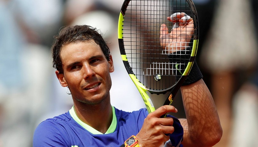 Rafael Nadal's Signed Nike Wristband