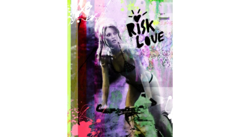 """Kate Moss Risk Love"" by Thomas Hussung"