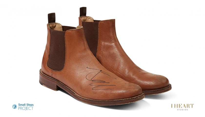 Tom Odell Signed Shoes