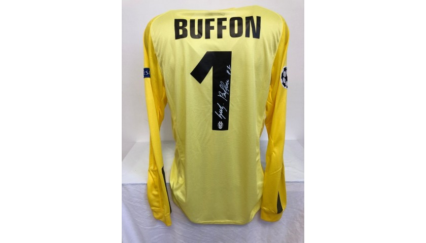 Buffon's Juventus Signed Match Shirt, UCL 2013/14