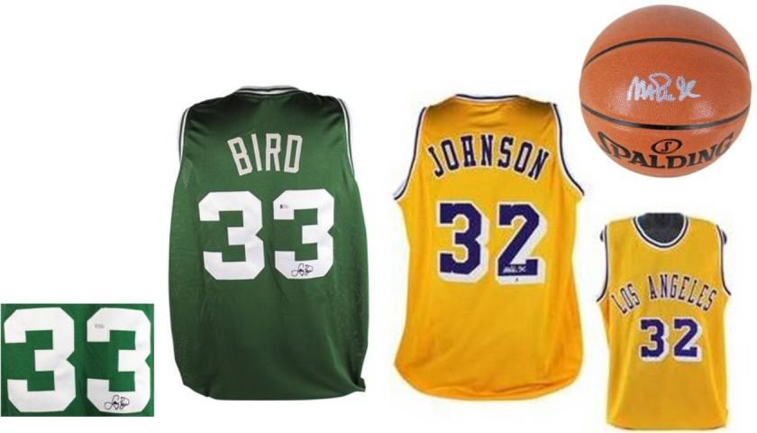 Larry Bird vs. Magic Johnson Bidder's Choice Package