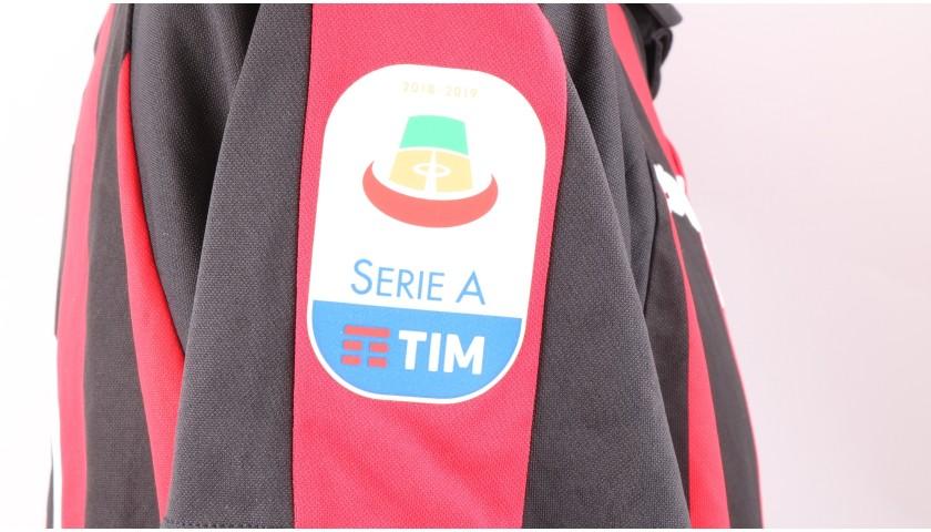 Paqueta's Official AC Milan Signed Shirt, 2018/19