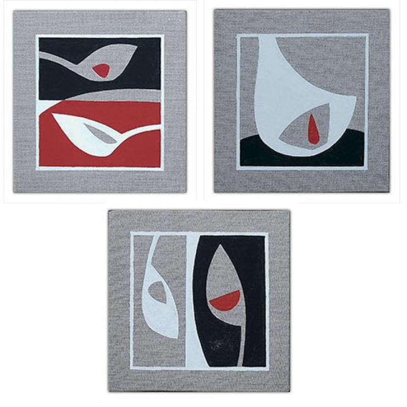 """""""Triptych Zen"""" by Giovanna Mancuso"""