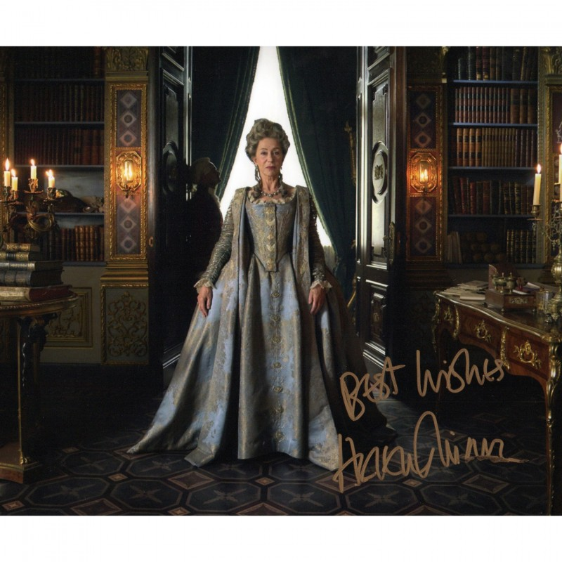Helen Mirren Signed Photograph