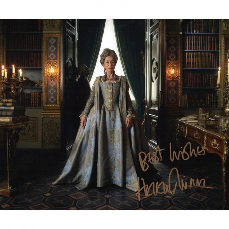 Helen Mirren Signed Photograph