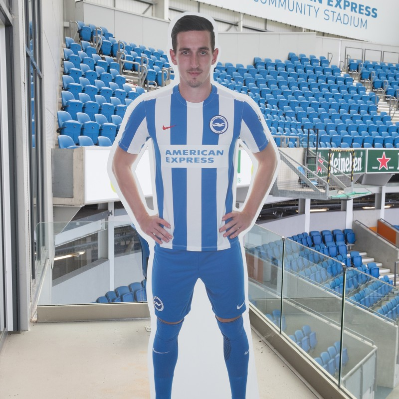 Lewis Dunk Signed Cardboard Cut-Out