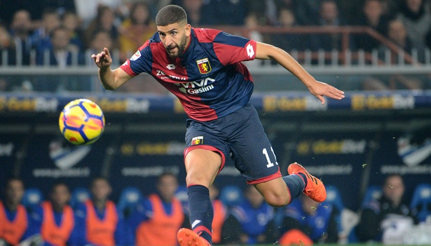 Taarabt's UNWASHED Special Genoa-Sampdoria Match-Worn Shirt