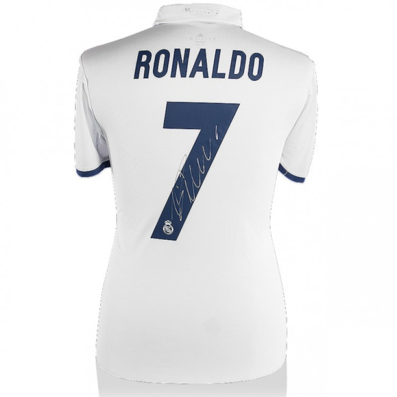 Signed Ronaldo Real Madrid Jersey 2016/2017