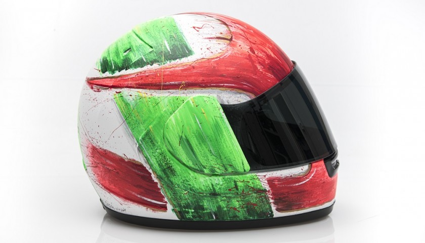 Fabrizio Pirovano Celebratory Helmet - Created by Max77