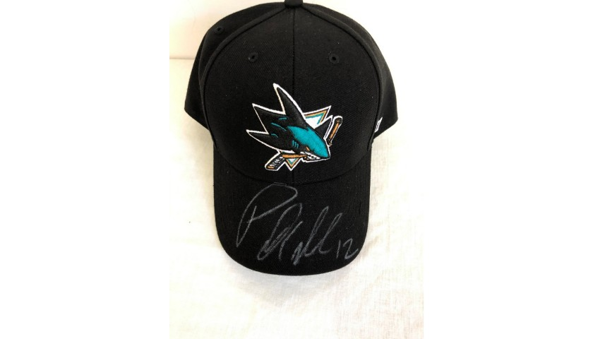 Official San Jose Sharks Cap - Signed by Patrick Marleau