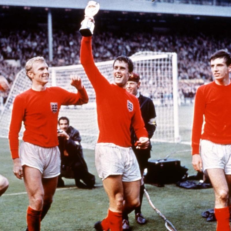 Hurst's Retro England Signed Shirt, 1966