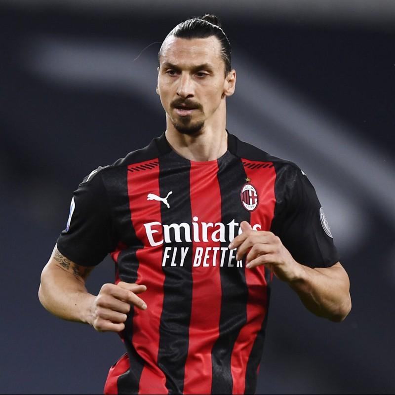 Maglia ufficiale Ibrahimovic Milan, 2020/21 - Autografata