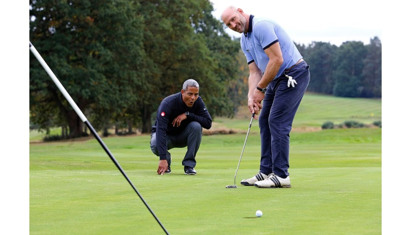 Golf Day for 6 With Lawrence Dallaglio and Jeremy Guscott
