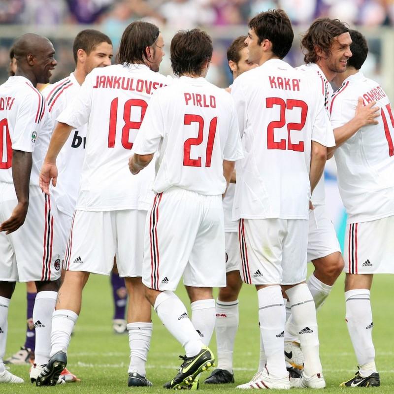 Thiago Silva's Official AC Milan Shirt, 2008/09 - Signed