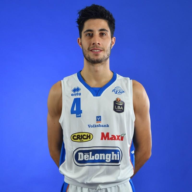 Completo da gara ufficiale De'Longhi Treviso Basket, indossato da Davide Alviti nella stagione 2019/20 in Serie A