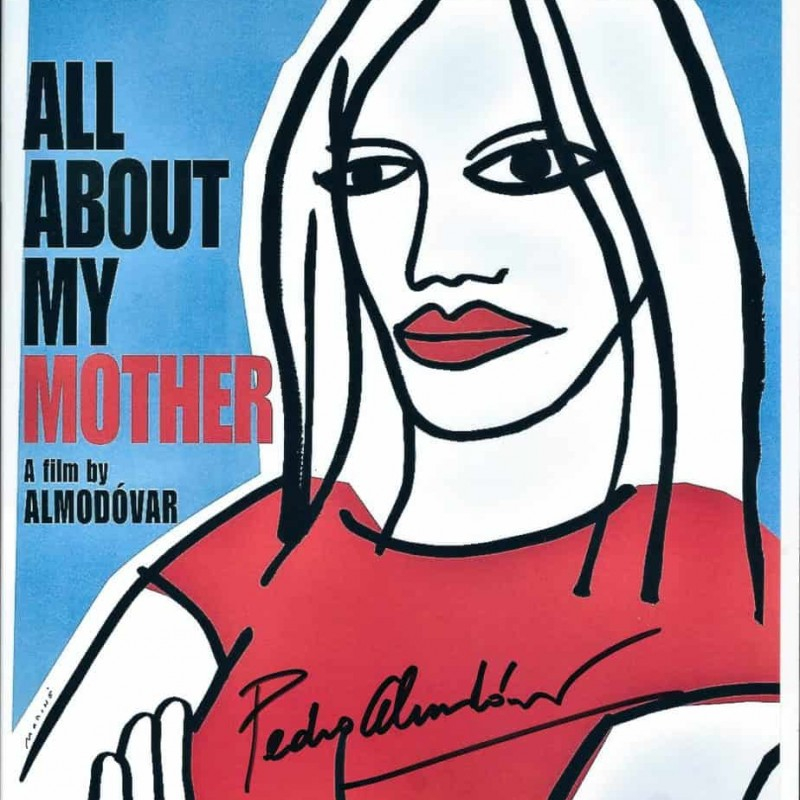 """All about my Mother"" Pedro Almodovar Signed Photograph"