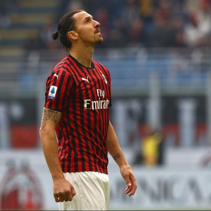 Ibrahimovic's Milan Match Shirt, 2019/20