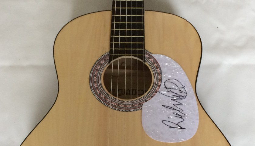 "Richard Ashcroft of ""The Verve"" Signed Acoustic Guitar"
