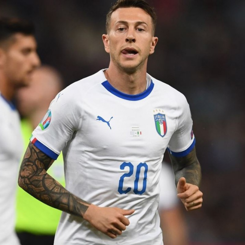 Bernardeschi's Match Shirt, Greece-Italy 2019
