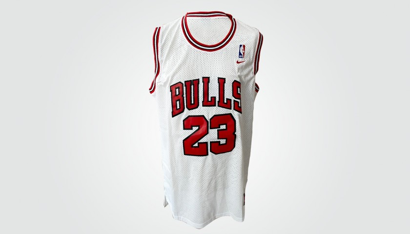 Official Jordan Chicago Bulls Jersey - Signed by Legends