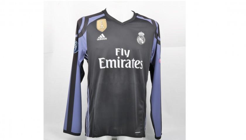 timeless design 32558 cd1ab Cristiano Ronaldo Match Issued/Worn Shirt, UCL 2016/17 - CharityStars