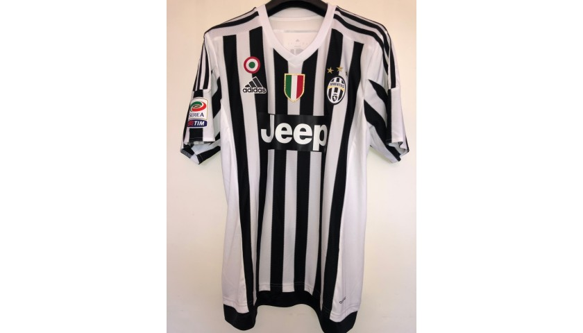 Marchisio's Official Juventus Signed Shirt, 2016/17