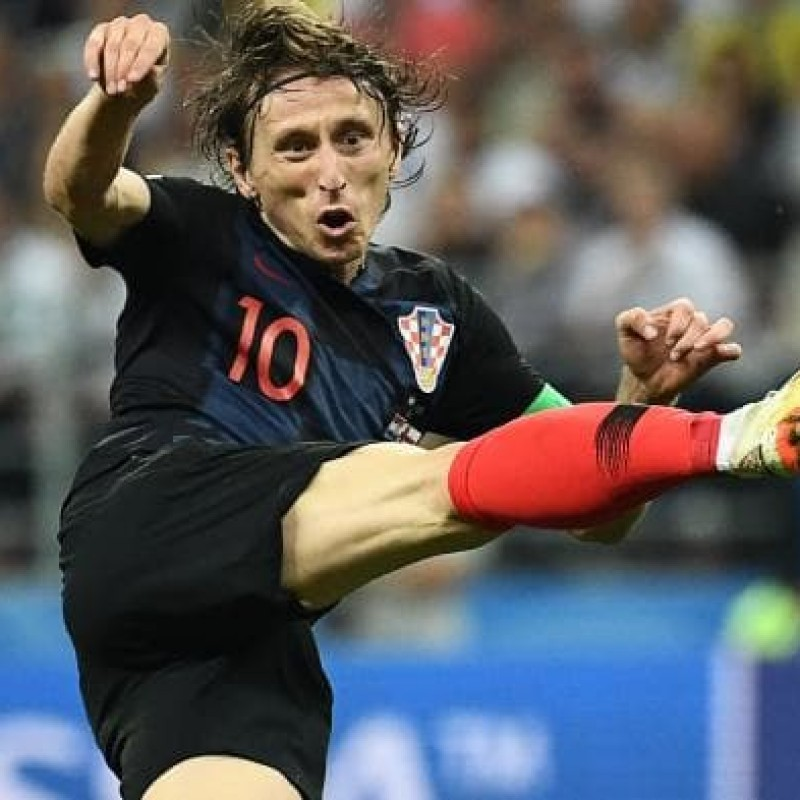 Meet FIFA World Cup MVP Luka Modric at a Real Madrid Home Game