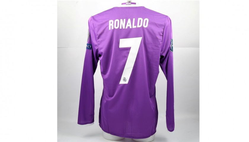 lowest price 004b3 bf698 Cristiano Ronaldo's Match-Issued/Worn Shirt, 2017 Cardiff Final -  CharityStars