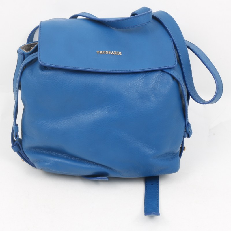Trussardi Leather Bag/Backpack