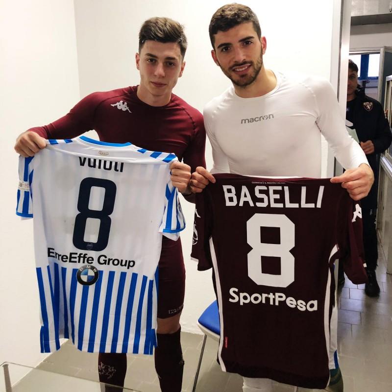 Valoti's Worn Shirt, Spal-Torino 2019