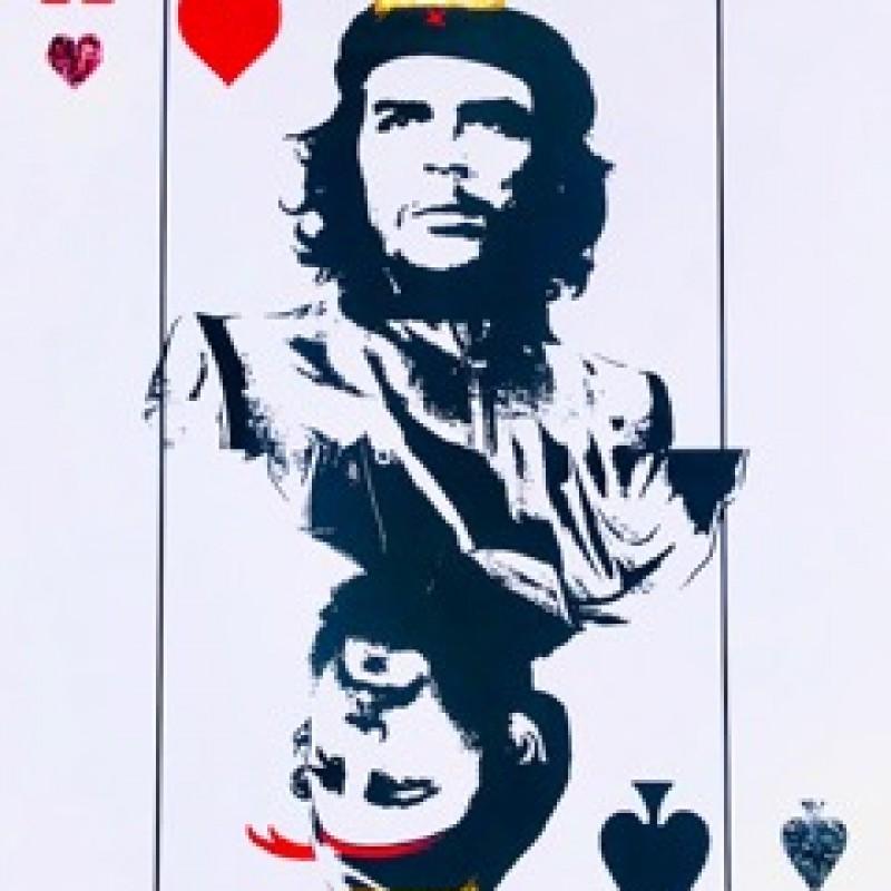 Che Guevara + Fidel Castro by Karen Bystedt