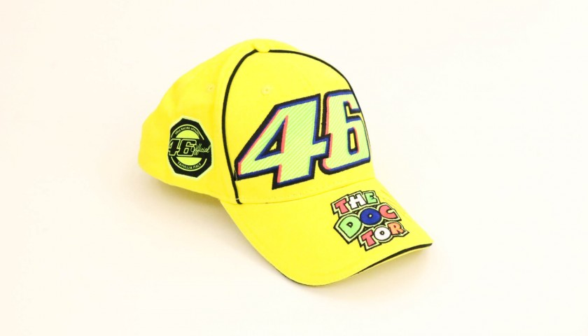 "Official ""The Doctor"" Cap - Signed by Valentino Rossi"