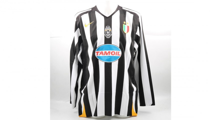 save off bcbf6 3bcea Ibrahimovic's Match-Issued/Worn Juventus Shirt, 2005/06 UCL - CharityStars