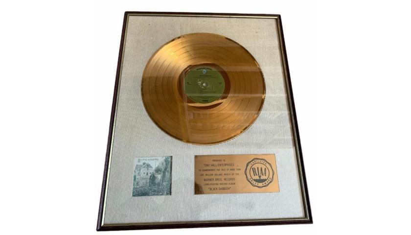 Black Sabbath RIAA Certified Award