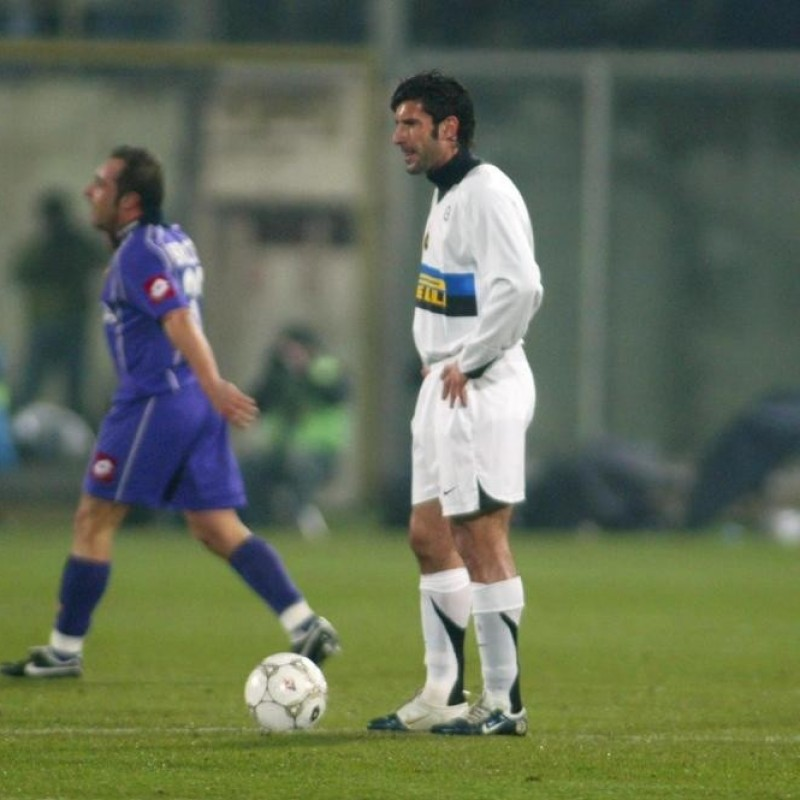 Figo's Inter Match Shirt, 2005/06