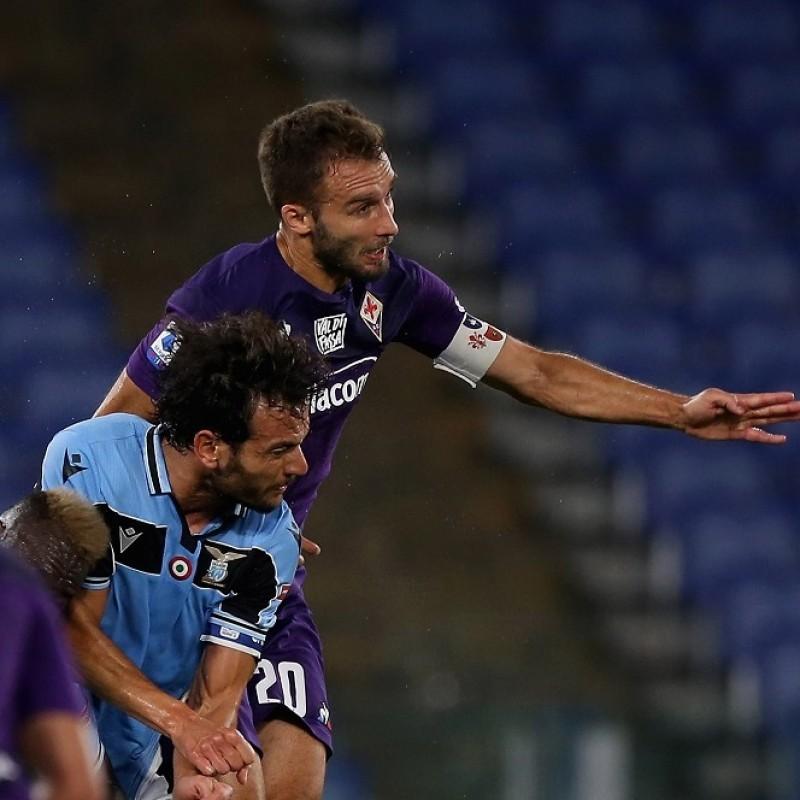 Pezzella's Worn Shirt, Lazio-Fiorentina 2020