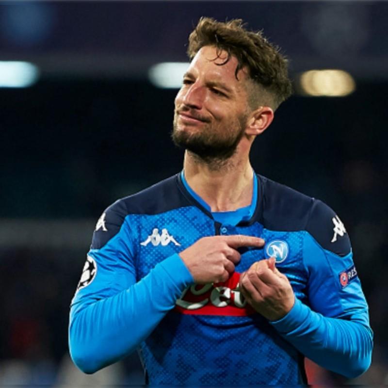 Mertens' Official Napoli Signed Shirt, 2019/20